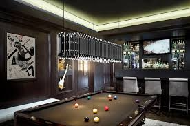 billiard room lighting. matheny sculptural suspension lamp billiard room lighting e