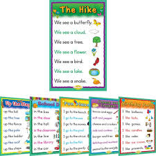 Sight Word Story Charts Level A