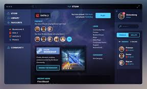 steam website layout gaming client redesigns