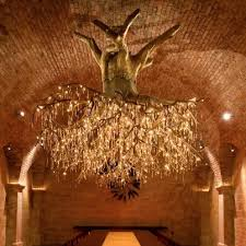 branch chandelier lighting. napa valleyu0027s enchanting tree chandelier branch lighting l