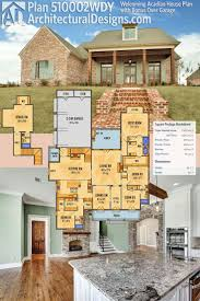acadian house plans with front porch best of 1551 best house plans images on