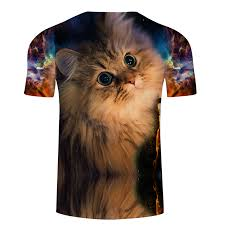 Animal Eye Size Chart Us 7 25 34 Off Flash Eye Cat Tshirt Men Women T Shirt Animal T Shirt 3d 6xl Galaxy Top Unisex Tee Anime Cloth Streetwear Drop Ship Zootop Bear In