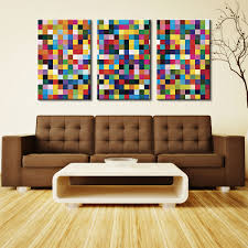 gerhard richter 1024 colours triptych canvas print set