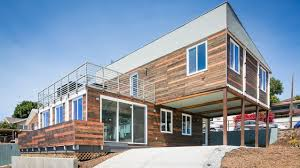 Cargo Box Homes San Diego Modern Home Built From Shipping Containers Lists For