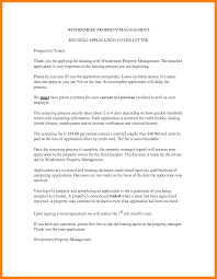 Rental Application Cover Letter Gallery Cover Letter Ideas