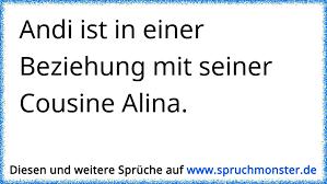 Andi Ist In Einer Beziehung Mit Seiner Cousine Alina Spruchmonsterde