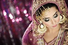 beautiful elegant bridal makeup