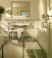 Mosaic Bathroom Accessories Sets Bathroom Set Ideas With Innovative Oval Mirror And White Mosaic