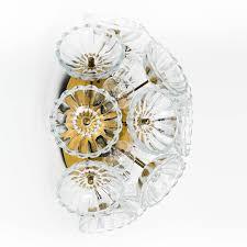 pair glass brass sputnik flush mount wall lights sconces hps design light lamp sconce for flowers beautiful fl dandelion and under cupboard lighting