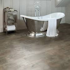 Super Tough And Luxuriously Stylish, The Aqua Tile Professional Copper  Patina Click Vinyl Flooring Is. Bathroom ...
