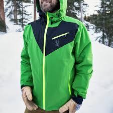 Spyder <b>Men's</b> Fanatic <b>Ski Jacket</b> Review: A <b>High</b>-End Shell