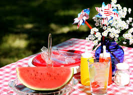 Image result for pictures of 4th of july picnicks