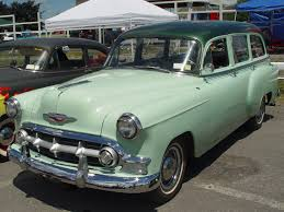 53 Chevy... had a surf wagon just like this when I was in college ...