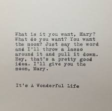 It's A Wonderful Life Quote Typed On Typewriter WhiteCellarDoor Gorgeous Wonderful Life Quotes