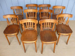 Set Of 10 Vintage Bentwood Chairs Kitchen Dining Chair Holders