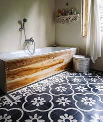 painting bathroom floor tiles ideas