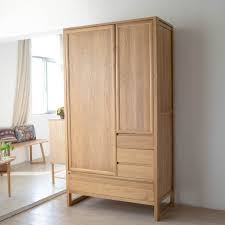 Get Quotations · Oaken Verticle Wardrobe Closet Full Of Solid Wood Storage  Cabinets Lockers Cabinet Oak Wood Wardrobe Closet