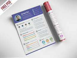 Professional Resume Template Free Best Professional Resume CV Template Free PSD PSDFreebies