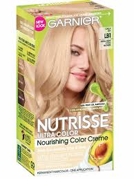 Garnier hair color blonde