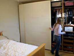 reach in closet sliding doors. Large White Sliding Door For Bedroom Reach In Closet Design Idea. Cool Designs Doors O