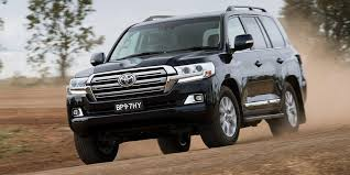 Top-End Toyota Land Cruiser SUV Almost All The Same For 2017