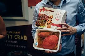 Crab Vending Machine Adorable This Vending Machine Festival Serves Up Readytoeat Meals Like