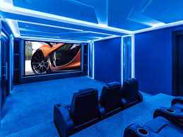 Led Lights For Theater Room Home Theater Designs From Cedia 2014 Finalists Home