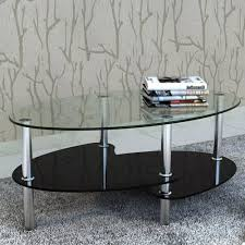 vidaxl table top glass black tempered