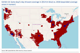 What Does The Chart Illustrate About American Indian Populations Amazon Can Already Ship To 72 Of Us Population In A Day