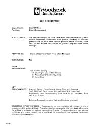 front desk hotel job description hotel front desk resume skills office manager samples experience