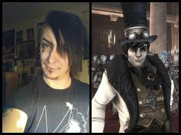 just experimenting with make up for my next cosplay reaver from fable 3 for deecon scotland