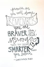 Christopher Robin Quote By WhimsyLettering On Etsy Holiday Crafts Custom Christopher Robin Quotes
