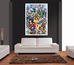 interior marvel super heroes cartoon style giant wall art print picture regular large posters 4