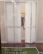 louvered bifold doors. 36 In X 80 Woodgrain Doors 2 Panel Louver Solid Core Wood Closet Bi- Louvered Bifold
