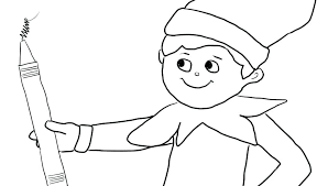 elf on shelf coloring pages coloring pages elf on the shelf coloring sheets color pages library elf on shelf coloring pages