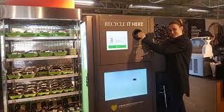 First Vending Machine Best Woolworths Pilots South Africa's First Recycling Vending Machine