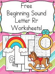 Beginning Sounds Letter R Worksheets - Free and Fun