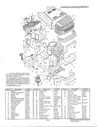murray model 46256x9a lawn tractor genuine parts