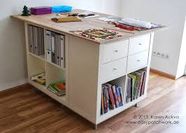 20 Crafty Workspace  Storage Ideas From Ikea  BabbleIkea Craft Room