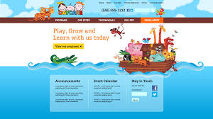 daycare clix websites daycareclix template gallery