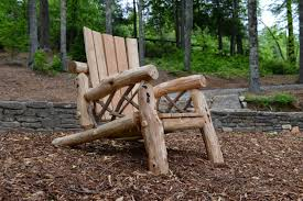 rustic outdoor furniture. Rustic-Adirondack-Chair_web Rustic Outdoor Furniture I