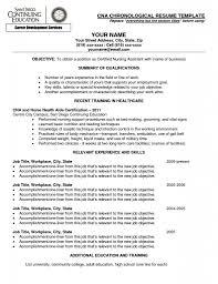 Cna Objective Resume Nursing Assistant Resume Sample For Study Cna
