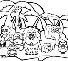 Zoo Animals Coloring Pages Pdf Coloring Pages Of Animals Farm Animal