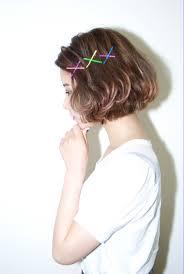 ショートカットボブの魅力upはグラデーションカラーで髪色の魔法で