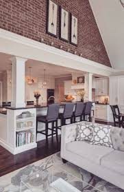 Open Kitchen Design With Living Room 17 Best Ideas About Kitchen Living Rooms On Pinterest Small Home