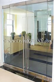 herculite double doors with sidelights