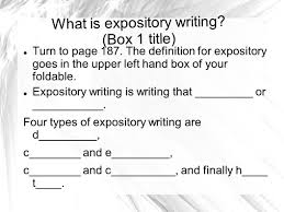 expository essay what you will learn from this slideshow what an  2 what