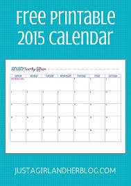 Free Printable 2015 Calendar Abby Lawson