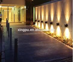 impressive wall garden lights boundary wall lights soul speak designs