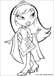 Small Picture bratz coloring pages to print sasha bratz coloring pages for kids